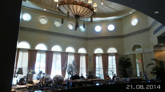 Acqualina Resort & Spa on the Beach: salon desayuno