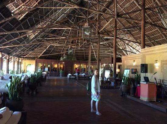 Dongwe Club: grande sala