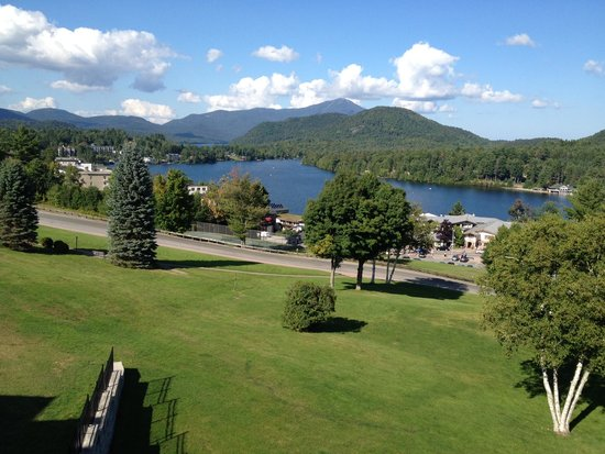 Crowne Plaza Lake Placid: View from Lake Side room