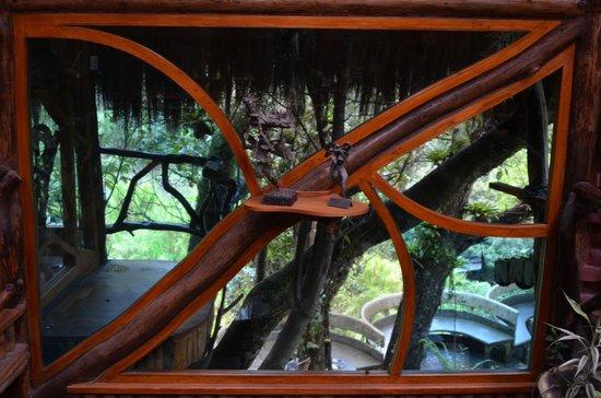 Hosteria Finca Chamanapamba : detalle ventana