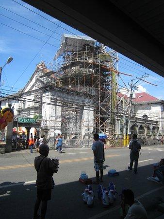 Basilica del Santo Niño: under renovation