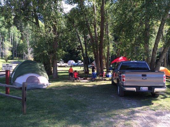 Ouray KOA : Great tent camping!