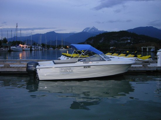 Squamish Harbour Boat Rental