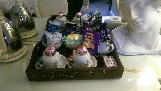 The Twenty One: The goody tray!