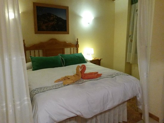 Apartamentos Estrella del Norte: cama