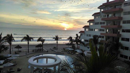 Quintas del Mar II: Great sunsets