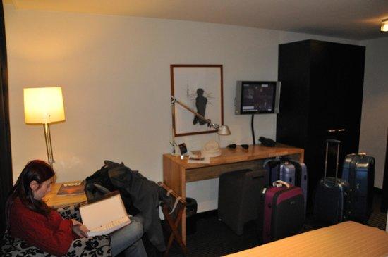 Hotel Vondel: quarto
