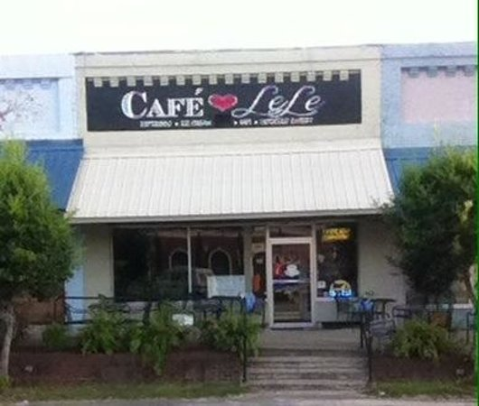 Cafe Lele's.  On the north side of the courthouse square in Colquitt, GA.