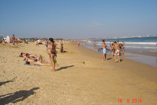Vila Galé Lagos: the beautiful beach and clean water