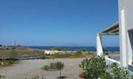 Sun Anemos Resort: Vista dalla Reception