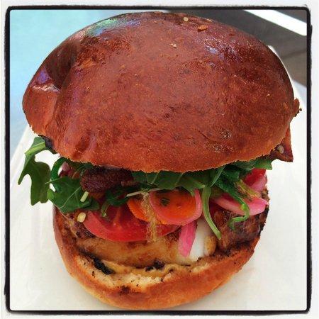 Thomas Hill Organics: Sea Bass Sandwich