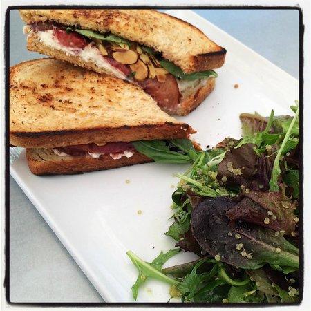 Thomas Hill Organics: Goat Cheese Sandwich