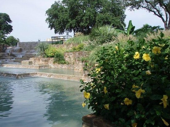 Tower of the Americas: Park's Gardens and Fountains