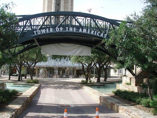 Tower of the Americas: Tower and Park Entrance