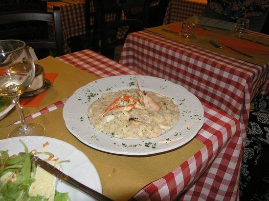 Ristorante Piccolo Martini : risotto with seafood