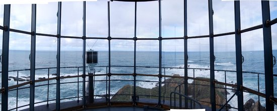 Point Arena Lighthouse : A View West Over the Pacific Ocean