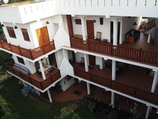 Unawatuna Nor Lanka Hotel : Вид отеля сверху