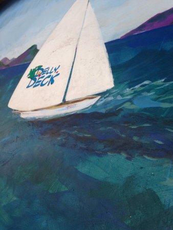 Delly Deck: Deli Deck mural