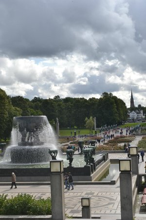 Museo de Vigeland: view from top