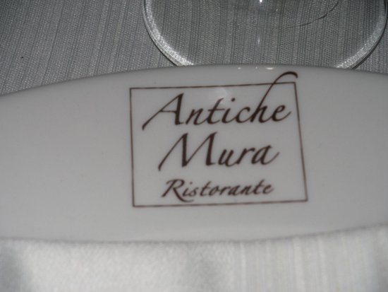 Antiche Mura Restaurant: location
