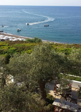 Anassa Hotel: A view from terrace