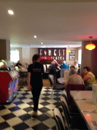 Finest Catch: Inside diner