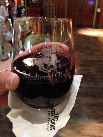 Medieval Times: They have very good wine!