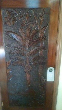 Sleeping Giant Lodge: The Casita Door