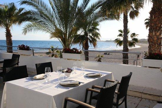 Restaurante Club Nautico Salou: terraza del restaurante