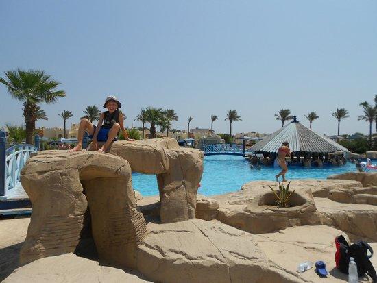 SUNRISE Select Royal Makadi Aqua Resort -Select- : bazény
