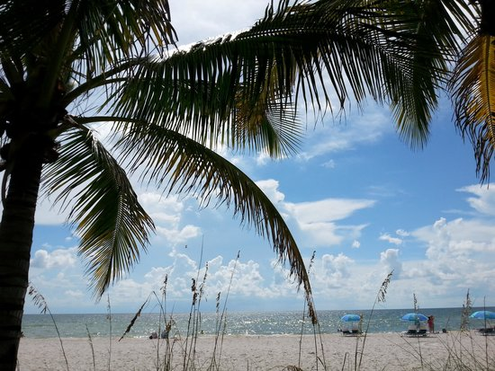 The Naples Beach Hotel & Golf Club : Hotel strand