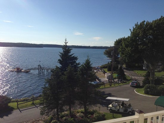 Spruce Point Inn Resort and Spa : View from Captain's Quarters