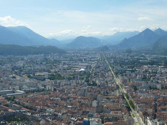 Bastille Téléphérique : vue de la Bastille