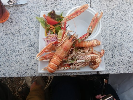 The Islay Hotel : Langoustine