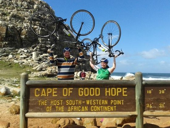 Bikes 'n Wines : Cycled to the Cape