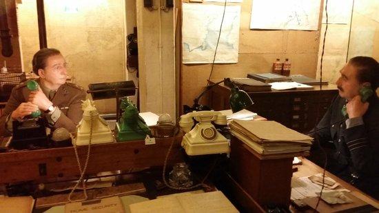 Churchill War Rooms: War Room Communications