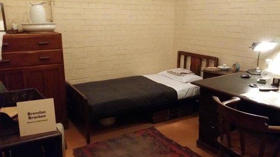 Churchill War Rooms: Bed Room