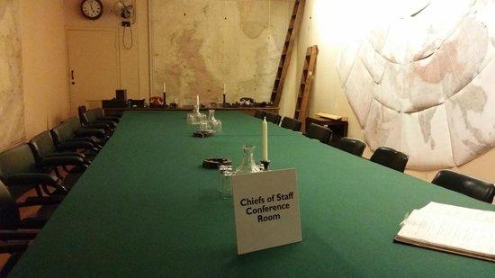 Churchill War Rooms: War Room