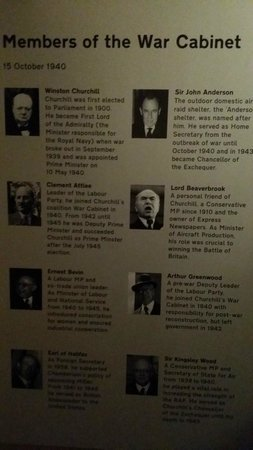 Churchill War Rooms: War Room Cabinet