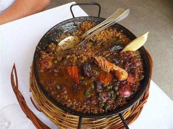 Boira: Paella pour 1 personne