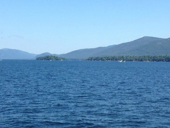 Lake George Steamboat Company: View of mountains