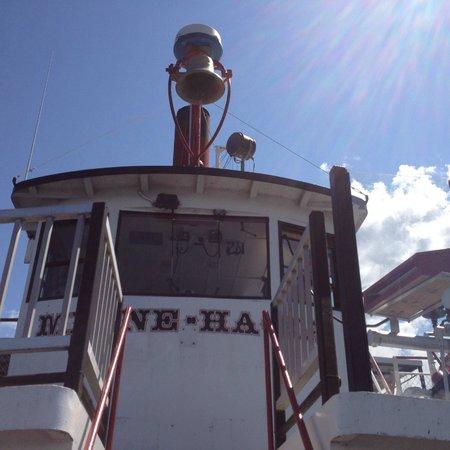 Lake George Steamboat Company: Captain's area