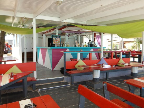 Ethnic Beach Bar Restaurant: Bar