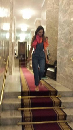 Bettoja Atlantico Hotel: Corredor que une os dois hoteis