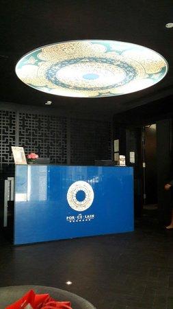 The Porcelain Hotel: Reception