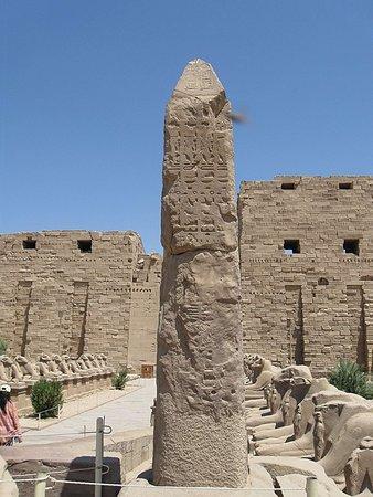 Avenue of Sphinxes : Аллея Сфинксов у храма Амон Ра