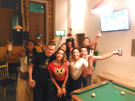 Manga Hostel King's Cup Party Crew!