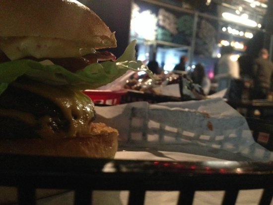 Almost Famous: Famous Burger (the simplest one)