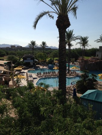 Marriott's Canyon Villas: View from our 3rd floor room.