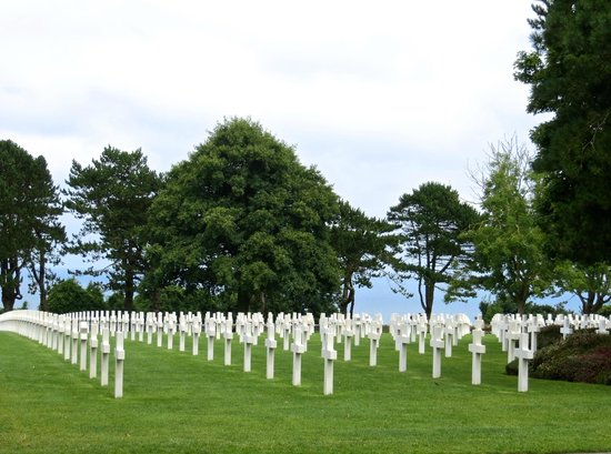 Monumento y Cementerio Estadounidense de Normandía: The ultimate sacrifice